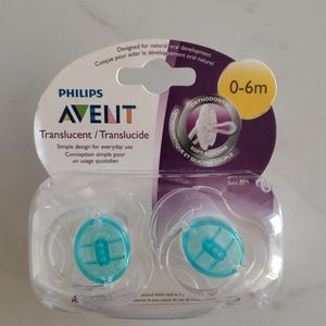 2 pack of pacifiers